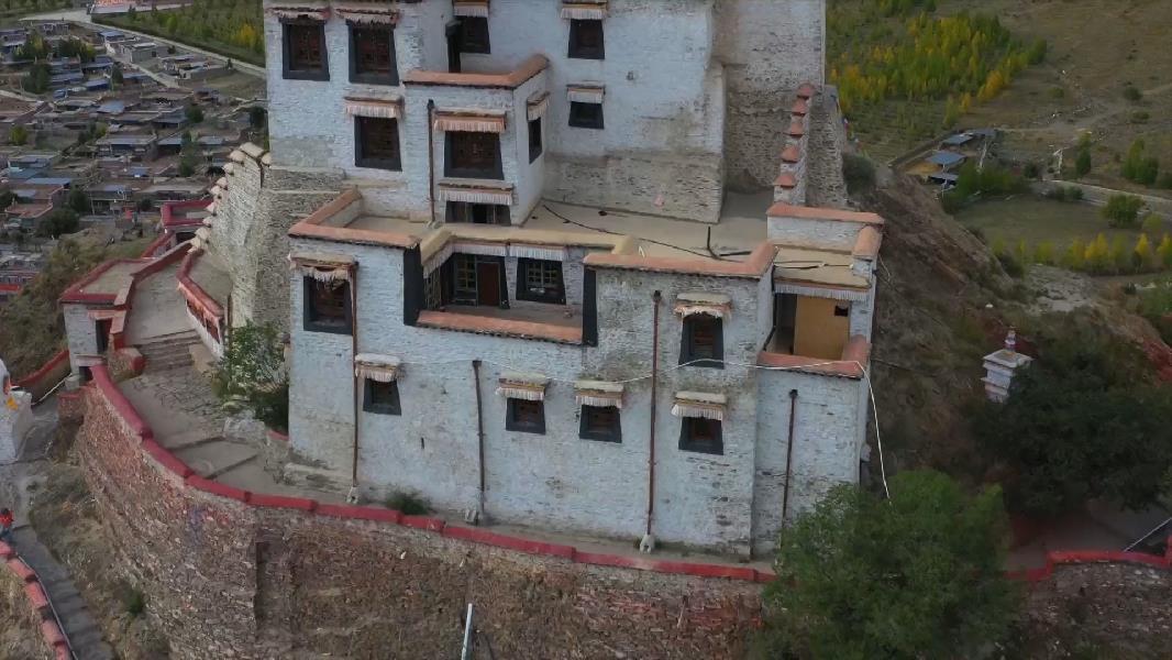 【微視頻】鳥瞰西藏第一座宮殿——雍布拉康