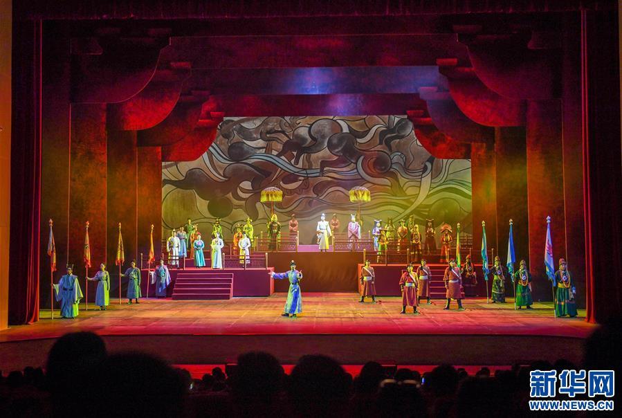 西藏歷史舞臺劇《金城公主》首季公演收官