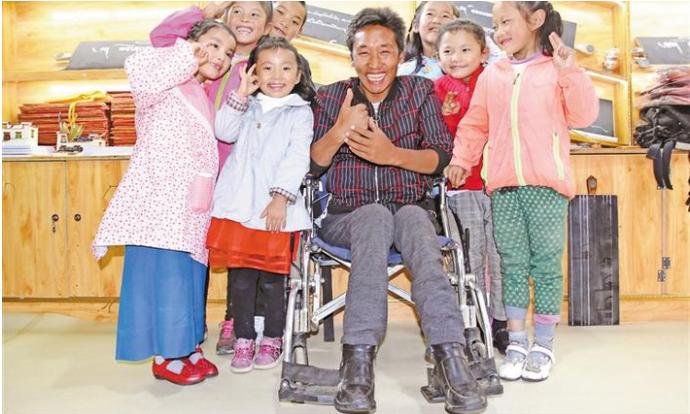 覺列:輪椅上的追夢人