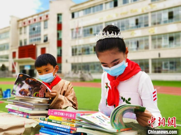 西藏各地開展活動迎接世界讀書日