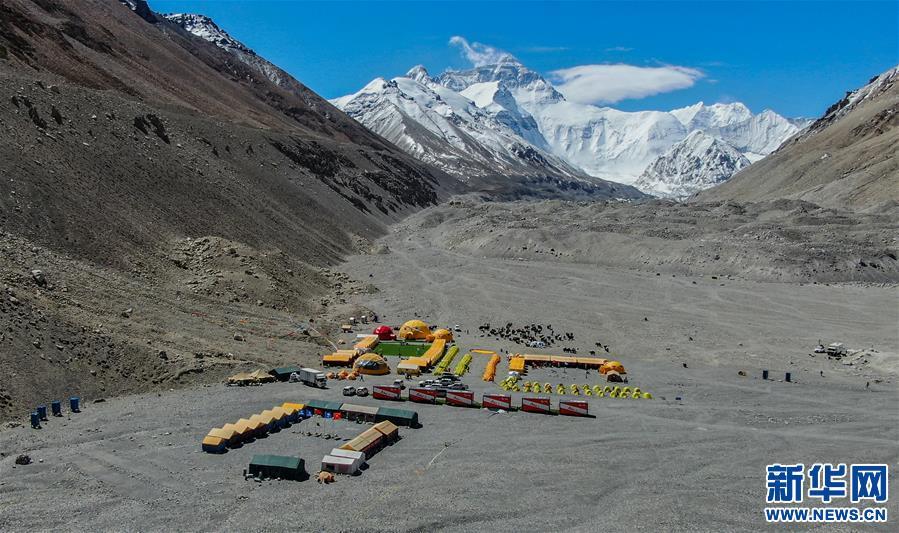 """""""心安,這裏有家的味道""""——探訪珠峰大本營測量登山營地"""