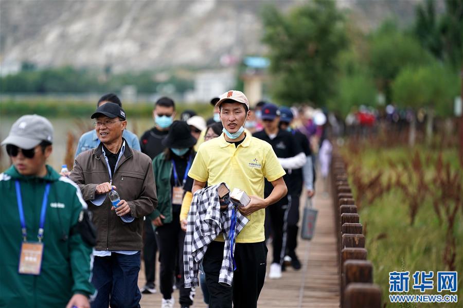全民健身——拉薩2020年環拉魯濕地健步走係列活動啟動(圖)