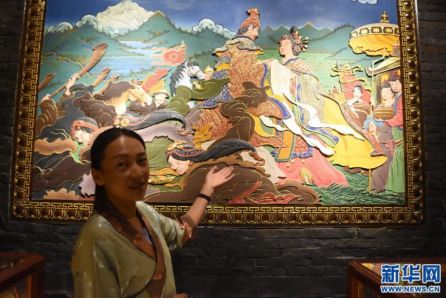 西藏康馬:頁岩石鋪出致富路(圖)