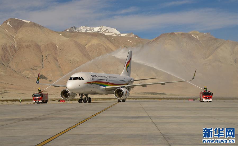 西藏首個空港岸電項目投運